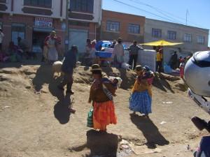 Los héroes de Bolivia